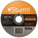 Диск отрезной по металлу размер 150x1,6x22,23, STURM, 9020-07-150x16