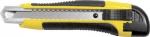 Нож технический 18 мм усиленный прорезиненный Профи стайл, FIT, 10258