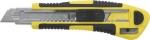 Нож технический 18 мм усиленный кассета 3 лезвия автозамена лезвия, FIT, 10265