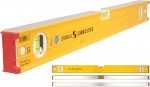 Уровень тип 96-2, 200 см, 2 вертикальных, 1 горизонтальный, точность 0,5 мм/м, STABILA, 15231