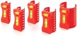 Набор уровней для всех видов и типоразмеров труб (5 штук), KAPRO, 350