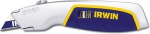 Нож Utility Knife с выдвижным лезвием трапеция, IRWIN, 10504595