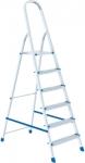 Стремянка, 6 ступеней, алюминиевая, СИБРТЕХ, 97716
