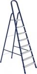 Стремянка, 8 ступеней, стальная, оцинкованные ступени, СИБРТЕХ, 97848