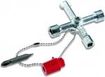 Металлический ключ для всех стандартных распределительных шкафов, CIMCO, 112894
