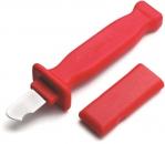Кабельный нож с изоляцией 1000В, лезвие изогнутое на конце, CIMCO, 120044