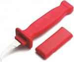 Кабельный нож с изоляцией 1000В, лезвие косое, CIMCO, 120045